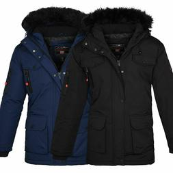 Anapurna By Geographical Norway Men's Winter Jacket Parka Ou
