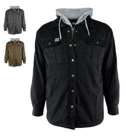 Buffalo Outdoors Men's Canvas Hooded Work Jacket - Available