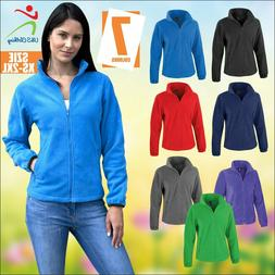 Result Core New Women's Fleece Jackets Fashion Fit Outdoor C