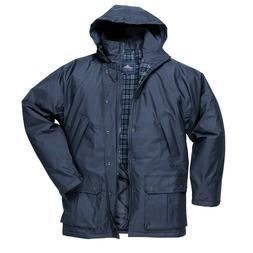 Portwest Dundee Quilt Lined Jacket Outdoor Waterproof Zipped