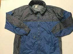 Columbia Full Zip Packable Windbreaker Hooded Jacket Men's S