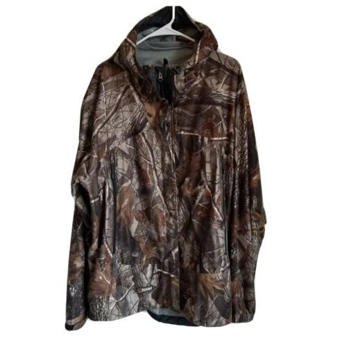 guide series camouflage jacket rain gear breathable