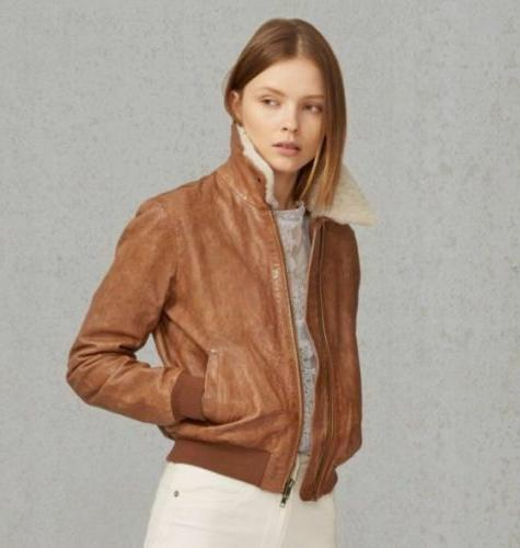 levi s made crafted shearling italian leather