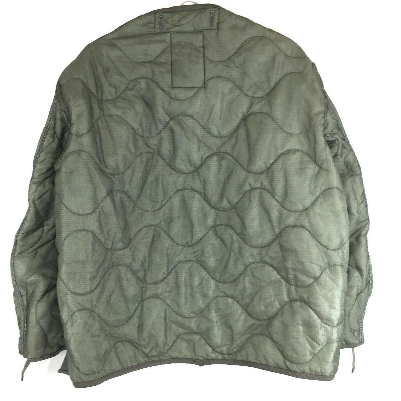 Military Coat Quilted Weather Jacket