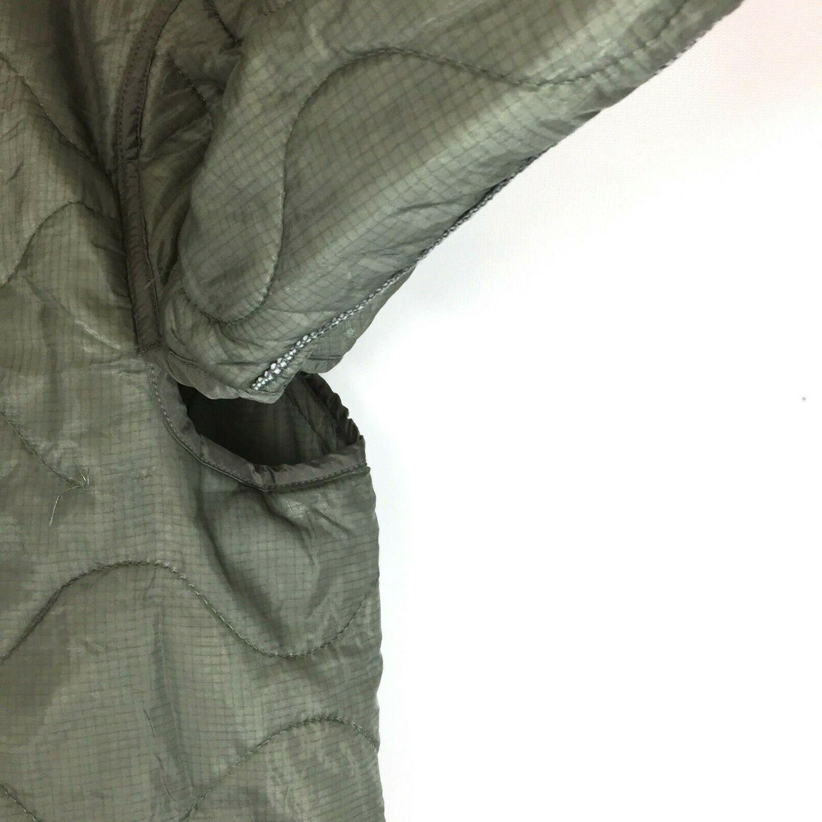 Military Liner, M65 Quilted Cold Weather Field