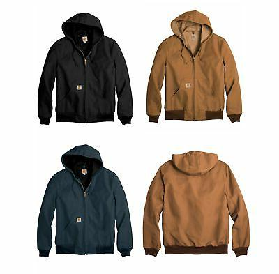 new mens thermal lined duck active jacket