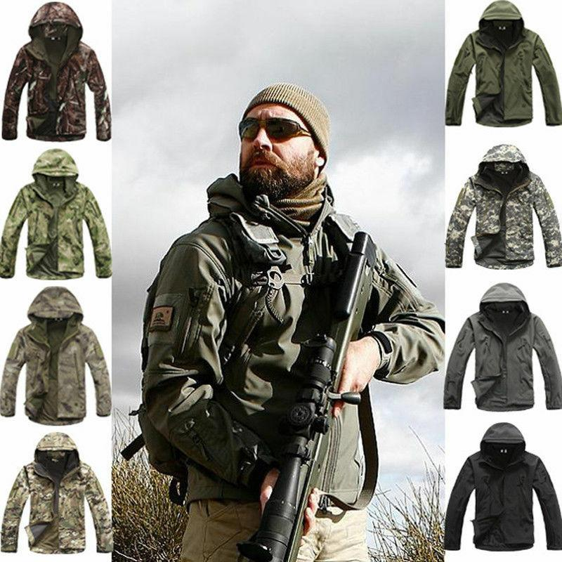 outdoor military tactical hiking jacket lurker shark