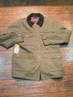 Browning Men's Lined Olive Green Outdoor Jacket Size Medium