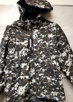 FONOROSE Men's Soft Shell Water Resistant Hooded Outdoor Jac