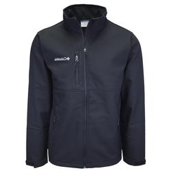 Columbia Men's Black Ascender Water Resistant Softshell Zi