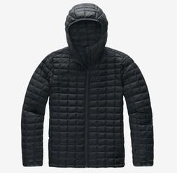 The North Face Mens Black Thermoball Hooded Puffer Jacket Bl