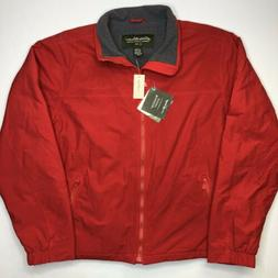 Eddie Bauer Men's Outdoor Outfitter WindFoil Red Jacket Si