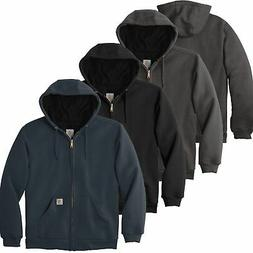 Carhartt Mens Rain Defender Rutland Thermal-Lined Hooded Zip