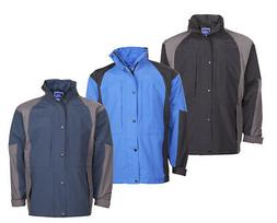 Mens Waterproof Jacket Coat Breathable Windproof Outdoor Ou
