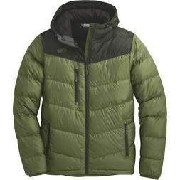 OR Outdoor Research Men's Transcendent Down Hoody Jacket | L