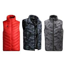 outdoor heated vest jacket winter hiking electric