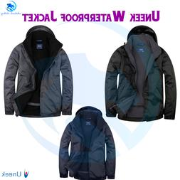 unisex premium outdoor jacket fleece lined waterproof
