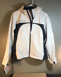 Free Country Women's White Winter Outdoor Jacket Removable H